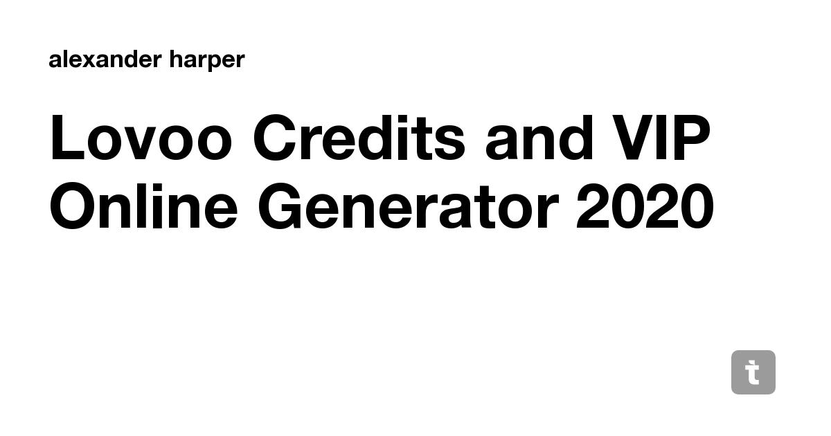 Generator code lovoo premium RBX House