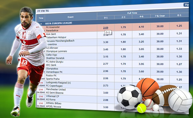 Pilih Pasaran Judi Bola dan Mainkan Sekarang Juga !