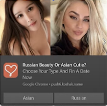 Russian beauty or Asian Cutie