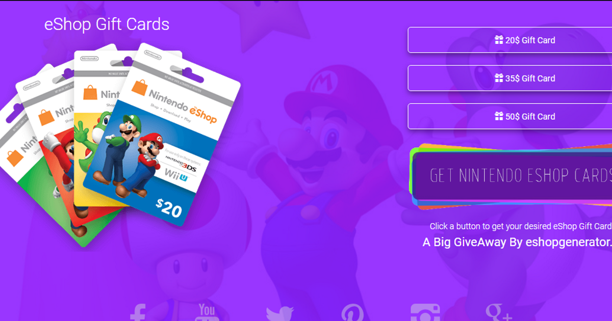 free eshop codes no download no survey