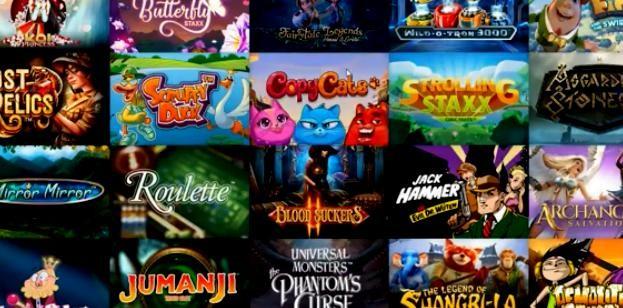 Любые виды игровых автоматов в онлайн-казино «Колумбус»