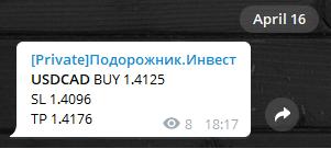Суммарно +689 пунктов: итоги за 13/04 - 17/04 .20