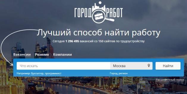 подработка moskva.gorodrabot.ru